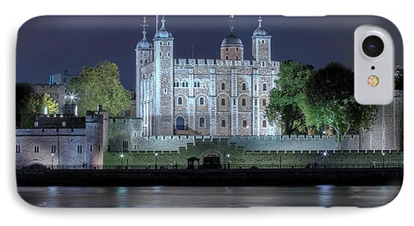 Tower Of London IPhone Case by Joana Kruse