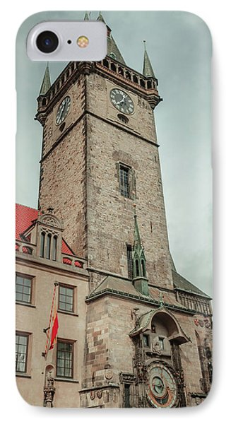 IPhone Case featuring the photograph Tower Of Old Town Hall In Prague by Jenny Rainbow