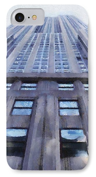 Tower Of Steel And Stone Phone Case by Jeff Kolker