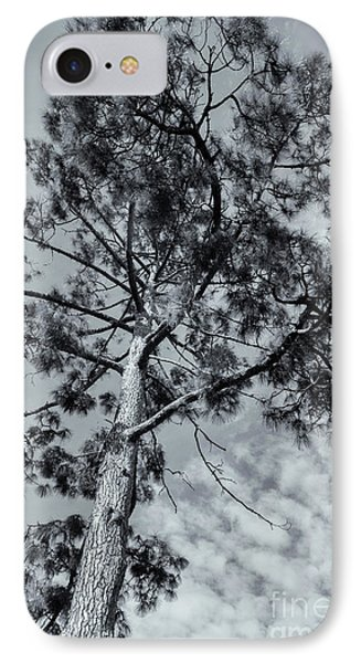 IPhone 7 Case featuring the photograph Towering by Linda Lees