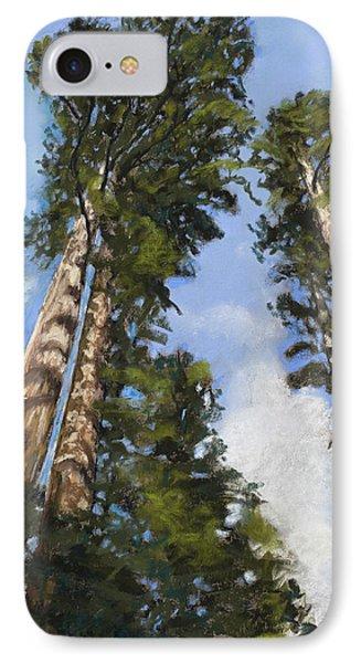 Towering Sequoias IPhone Case