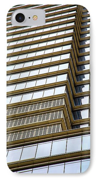 IPhone Case featuring the photograph Towering Windows by Karol Livote