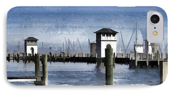 Towers And Masts IPhone Case by Roberta Byram