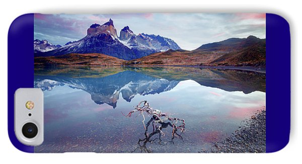 Towers Of The Andes IPhone Case by Phyllis Peterson