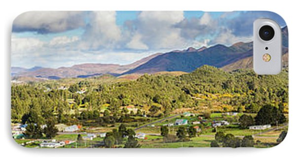 Town Of Zeehan Australia IPhone Case by Jorgo Photography - Wall Art Gallery