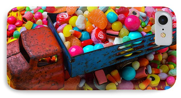 Toy Truck Full Of Candy IPhone Case by Garry Gay