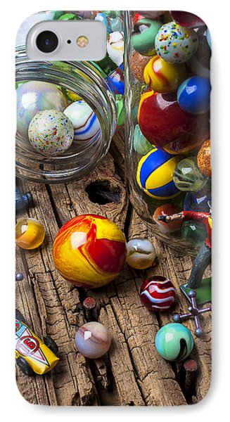 Toys And Marbles Phone Case by Garry Gay