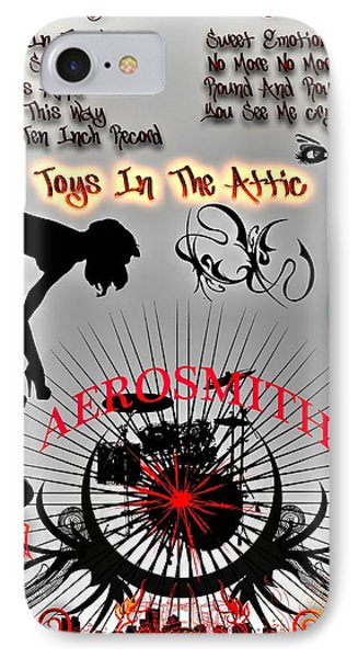 Toys In The Attic Phone Case by Michael Damiani