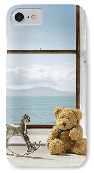Toys Overlooking The Ocean IPhone Case by Amanda Elwell