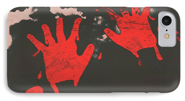 Trace Of A Serial Killer IPhone Case by Jorgo Photography - Wall Art Gallery