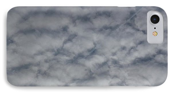 Trace Of Airplane Phone Case by Jean Bernard Roussilhe
