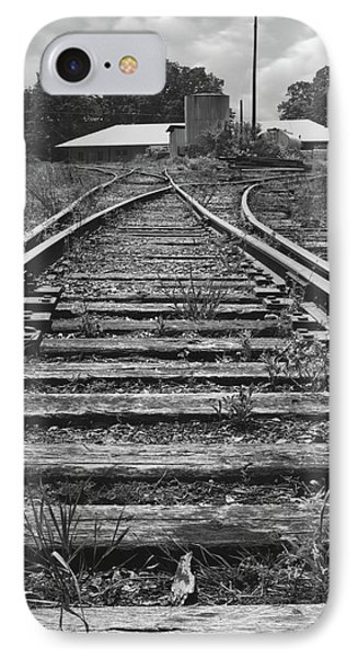IPhone Case featuring the photograph Tracks by Mike McGlothlen