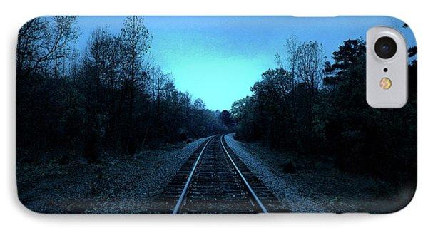 Tracks Of Dawn Phone Case by Nina Fosdick