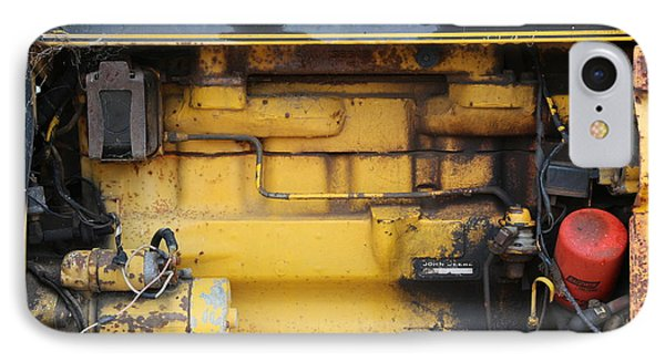 IPhone Case featuring the photograph Tractor Engine Iv by Stephen Mitchell