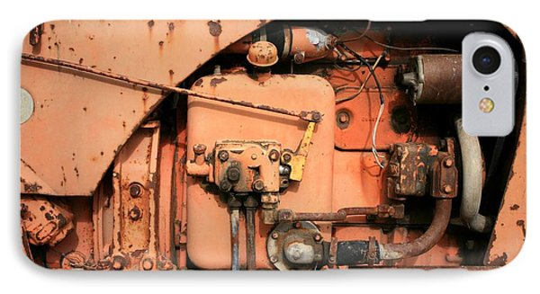 IPhone Case featuring the photograph Tractor Engine V by Stephen Mitchell