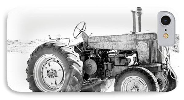 IPhone Case featuring the photograph Tractor by Silvia Bruno