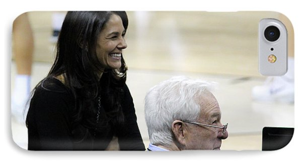 Tracy Wolfson Bill Raftery I  IPhone Case by Robert Yaeger