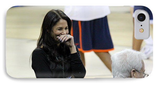 Tracy Wolfson Bill Raftery II IPhone Case by Robert Yaeger