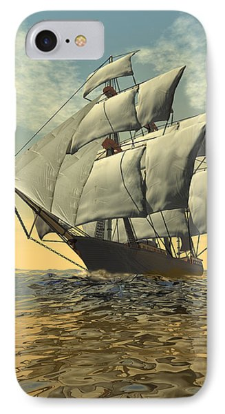 Tradewinds 2 IPhone Case by Carol and Mike Werner