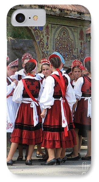 Tradition In Harghita County Phone Case by Gabriela Insuratelu