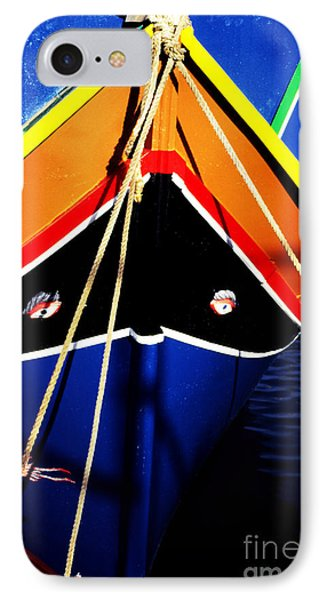 Traditional Maltese Fishing Boat Phone Case by Thomas R Fletcher