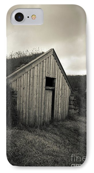 IPhone Case featuring the photograph Traditional Turf Or Sod Barns Iceland by Edward Fielding
