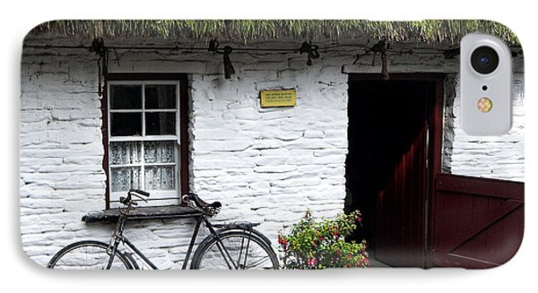 Traditional Thatch Roof Cottage Ireland Phone Case by Pierre Leclerc Photography