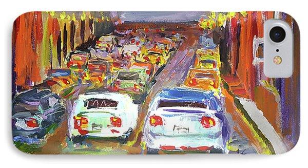Traffic Jam IPhone Case by Janet Garcia