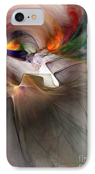 Tragedy Abstract Art IPhone Case