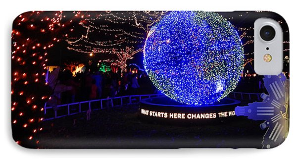 Trail Of Lights World #7359 IPhone Case