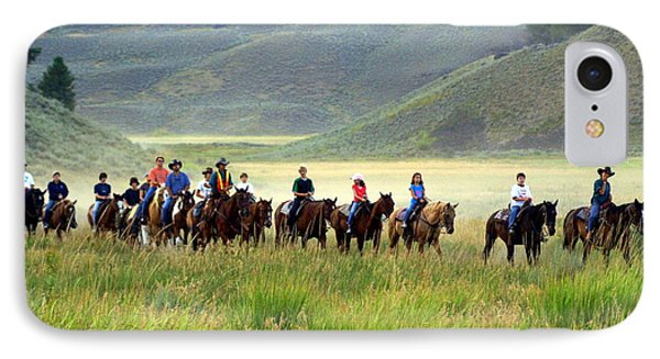 Trail Ride Phone Case by Marty Koch
