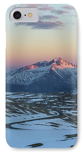 IPhone Case featuring the photograph Trail Ridge Road Vertical by Aaron Spong