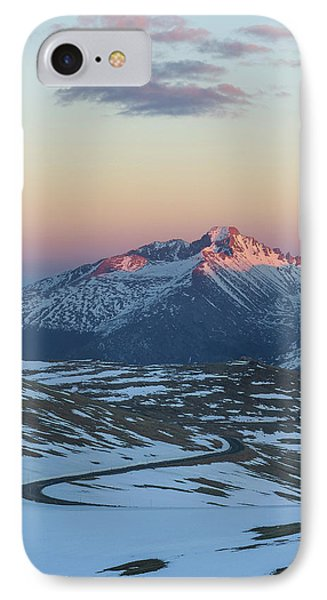 IPhone 7 Case featuring the photograph Trail Ridge Road Vertical by Aaron Spong