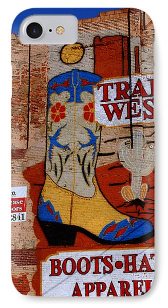 Trail West Mural Phone Case by Susanne Van Hulst