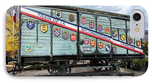 Train De La Reconnaissance Francaise - Ogden - Utah IPhone Case by Gary Whitton