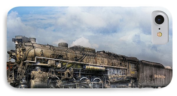 Train - Engine - Nickel Plate Road Phone Case by Mike Savad