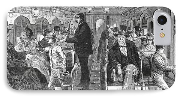 Train: Passenger Car, 1876 Phone Case by Granger