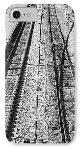 Train Tracks Phone Case by Gabriela Insuratelu