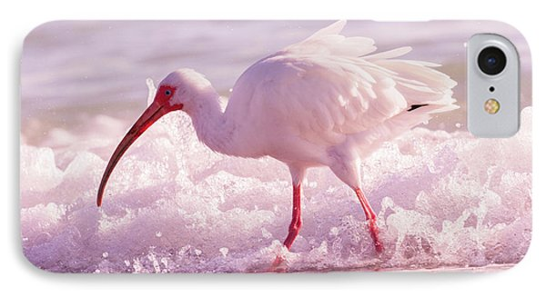 Ibis iPhone 7 Case - Tranquil Beauty Cortez Beach by Betsy Knapp