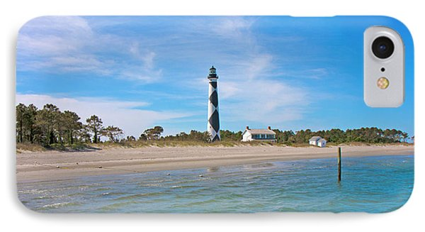 Tranquil Day Cape Lookout Lighthouse 2 IPhone Case