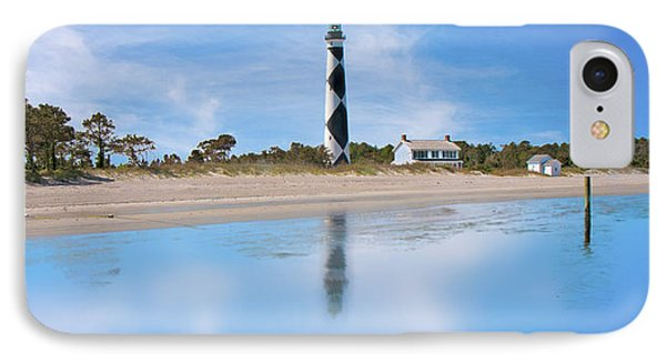 Tranquil Day Cape Lookout Lighthouse IPhone Case