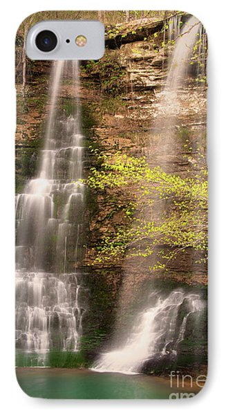 Tranquil Falls In Vertical Phone Case by Tamyra Ayles