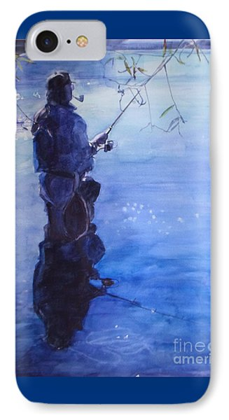 Tranquil Fishing IPhone Case by Greta Corens