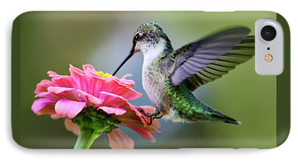 Tranquil Joy Hummingbird Square IPhone 7 Case