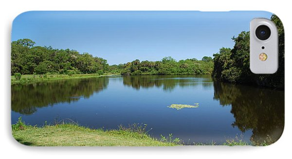 IPhone Case featuring the photograph Tranquil Lake by Gary Wonning