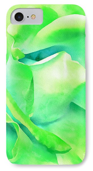 Tranquil Petals IPhone Case by Krissy Katsimbras