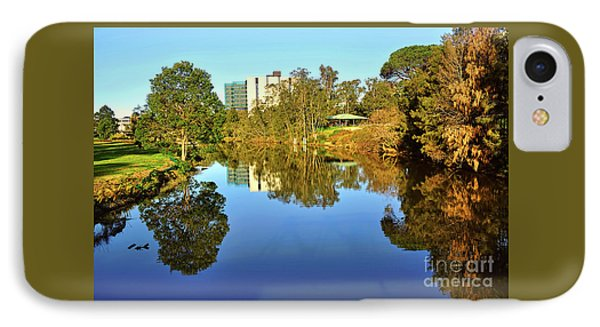 IPhone Case featuring the photograph Tranquil River By Kaye Menner by Kaye Menner
