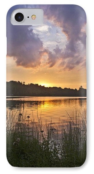 Tranquil Sunset On The Lake IPhone 7 Case