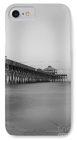 Tranquility At Folly Grayscale IPhone Case
