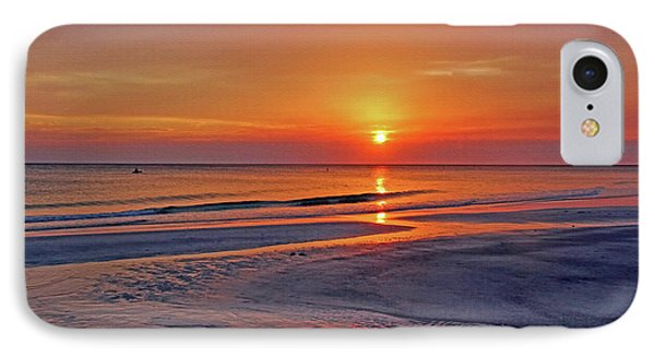 Tranquility - Florida Sunset IPhone Case by HH Photography of Florida